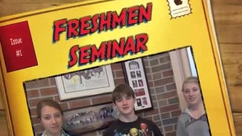 Thumbnail for entry Freshmen Seminar--Tech@the LAKE