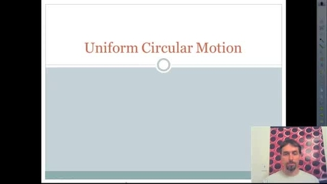 Thumbnail for entry Centripetal Acceleration and Force