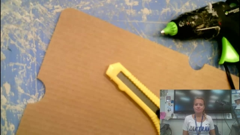 Thumbnail for entry Razor knife and hot glue safety