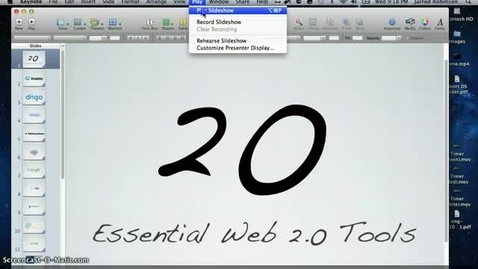 Thumbnail for entry Web 2.0 tools