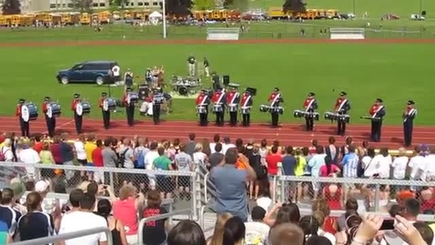 Thumbnail for entry Pulaski Marching Band Drum Line 2013
