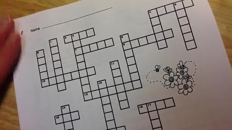Thumbnail for entry Eggword Crossword