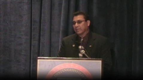 Thumbnail for entry Raul Sanchez of New Mexico NDP award speech