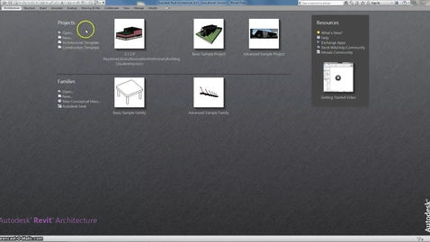 Thumbnail for entry REVIT Intro Walls