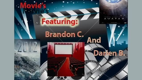 Thumbnail for entry Movies with Brandon and Darien - WSCN Mar 2010