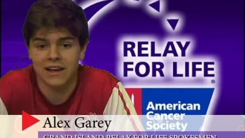 Thumbnail for entry Grand Island Relay For Life Commercial