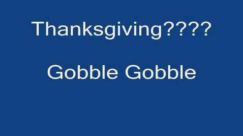 Thumbnail for entry Turkey Gobblers
