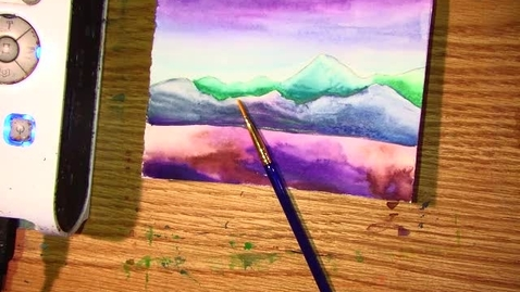 Thumbnail for entry watercolor trees