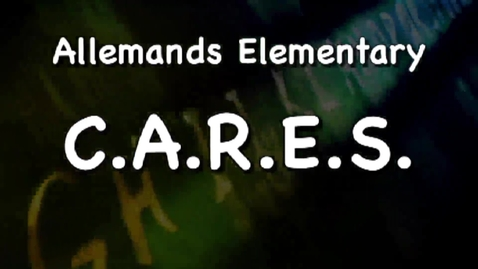 Thumbnail for entry Allemands Elementary C.A.R.E.S Program