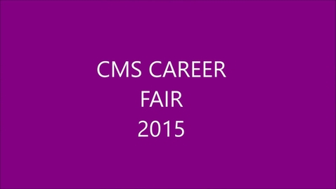 Thumbnail for entry KLAK-ACI Career Fair-2015