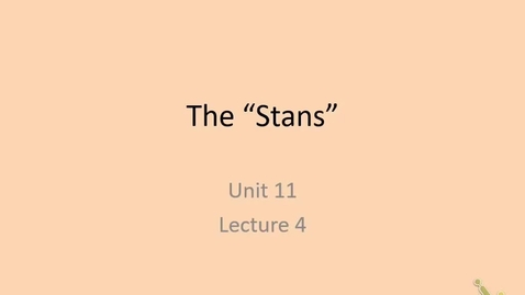 Thumbnail for entry 20th: The Stans