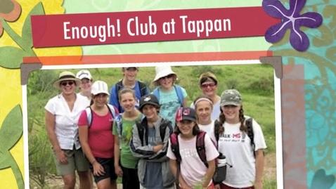Thumbnail for entry Tappan Enough! Club