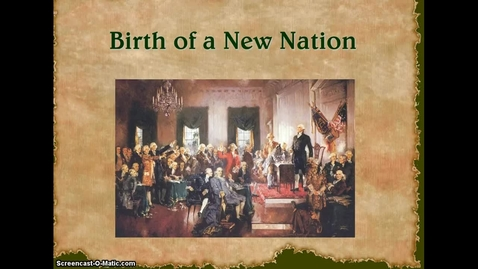 Thumbnail for entry Birth of a Nation Power Point