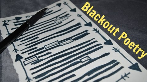 Thumbnail for entry How To: Blackout Poetry