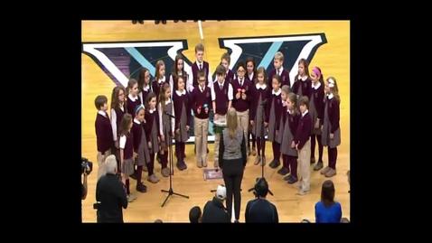 Thumbnail for entry National Anthem - Saint Norbert School Choir