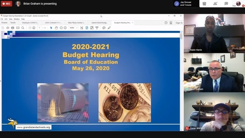 Thumbnail for entry Grand Island 2020-21 Budget Presentation 5-26-2020