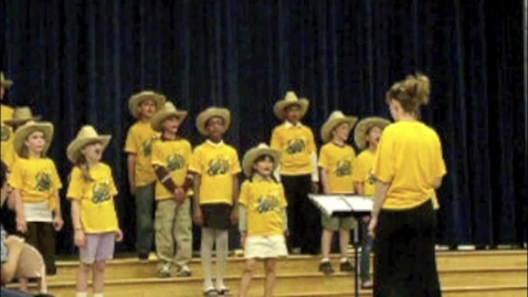Thumbnail for entry Logan Fifth-Grade Choir rehearsal & performance