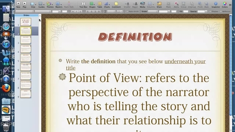 Thumbnail for entry POV Guided Notes (Flipped Classroom)