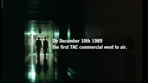 """Thumbnail for entry TAC Campaign - 20 year Anniversary retrospective montage """"Everybody Hurts"""" music by REM  TV ad"""
