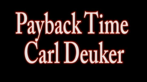 Thumbnail for entry Payback Time BookTalk