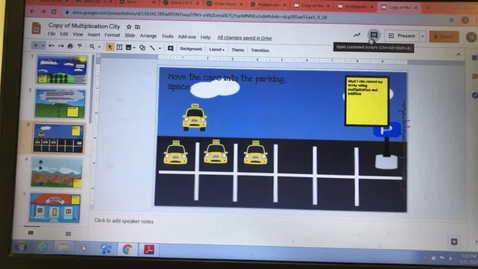 Thumbnail for entry Array Google Classroom Directions