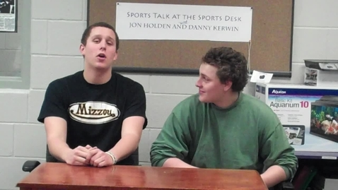 Thumbnail for entry Sports Talk at the Sports Desk: Episode 13