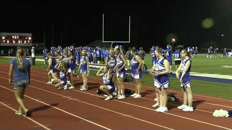 Thumbnail for entry HCHS Cheerleaders August 27, 2021