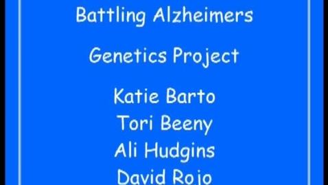 Thumbnail for entry Alzheimer's PSA
