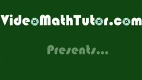 Thumbnail for entry Basic Math: Lesson 5 - Factors, Multiples & Divisibility