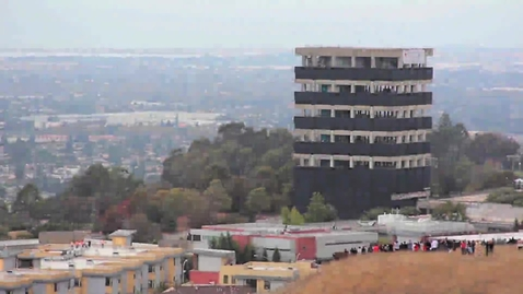 Thumbnail for entry Implosion of Cal State East Bay's Warren Hall