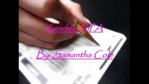Thumbnail for entry Grades and GPA