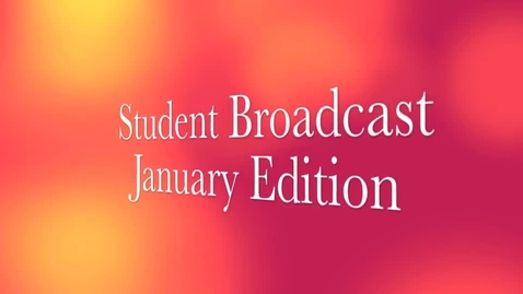 Thumbnail for entry Student Voice: January Edition