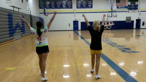 Thumbnail for entry 2013 Wahoo High School Cheerleading (Cheers)