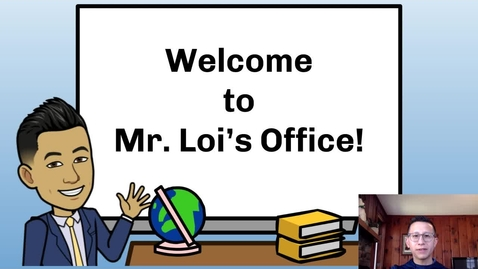 Thumbnail for entry Principal Loi's Message to Students: April 7, 2020