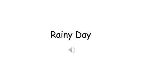 Thumbnail for entry Rainy Day