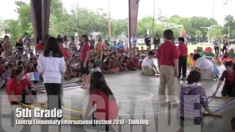 Thumbnail for entry Intl Festival 2010  - 5th Grade