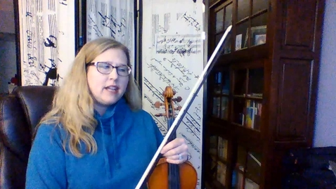Thumbnail for entry SPRING for 8th Gr VIOLIN and VIOLA - Take 2!.mp4