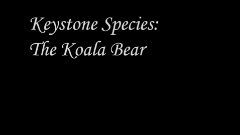 Thumbnail for entry Thanh Phung's and Dereck Ferarri's Keystone Species Project