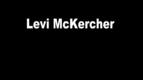 Thumbnail for entry Levi McKercher Green Screen Project