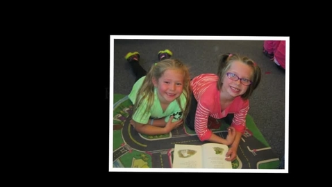 Thumbnail for entry Kindergarten Pals #1 2015-16