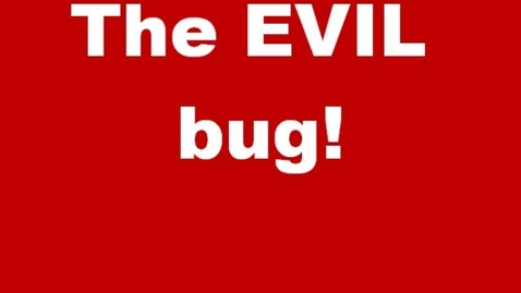 Thumbnail for entry The EVIL Bug!
