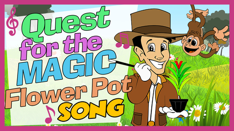 Thumbnail for entry Quest For Magic Flower Pot Theme Song | Songs For Kids | Master Plaster Song