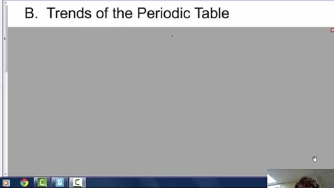 Thumbnail for entry Trends of the Periodic Table