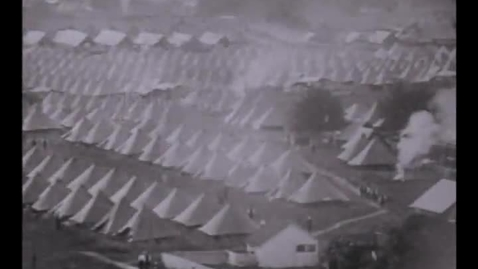 Thumbnail for entry Civil war veteran soldier footage, captured between 1913 and 1938