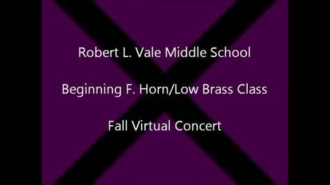 Thumbnail for entry 2012-2013 Beg. Horn & Low Brass fall Concert