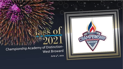 Thumbnail for entry 2020-2021 kinder graduation