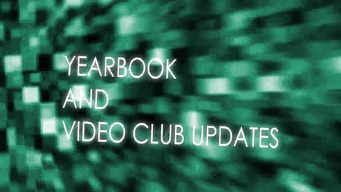 Thumbnail for entry Video Club & Yearbook