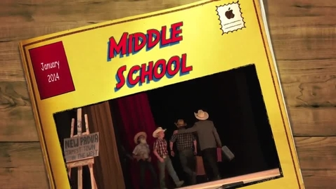 Thumbnail for entry Middle School Musical 2014 - The Taming of Katy Lou (Part 2)