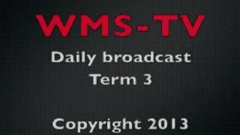 Thumbnail for entry Morning Broadcast March 28, 2013