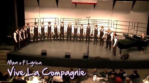 Thumbnail for entry LW Men of Lyrica: Vive La Compagnie